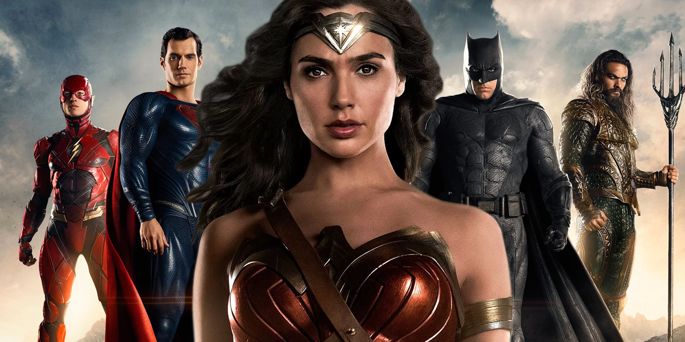 Justice League led by Wonder Woman