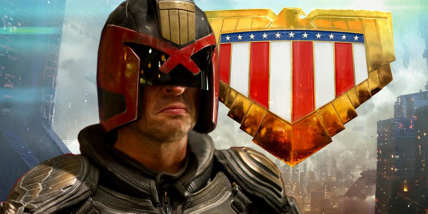 Karl Urban in Dredd and Mega City One
