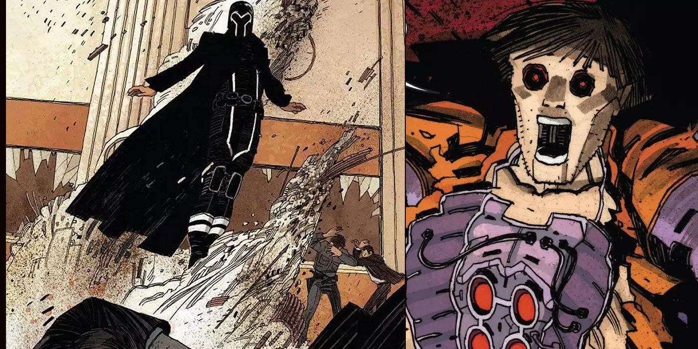 Magneto Erik kills Colton Hendry Marvel X-Men