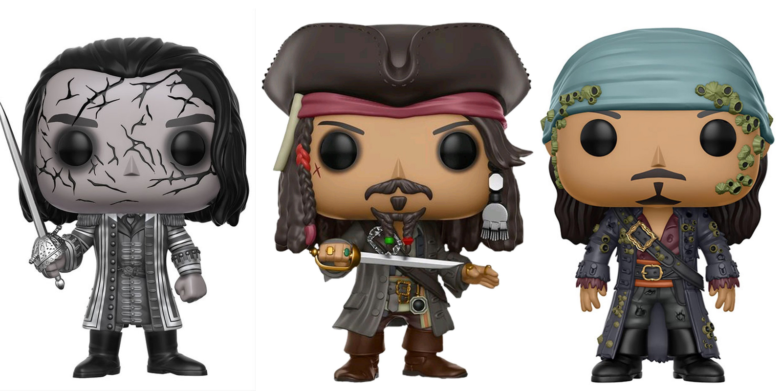 Pirates Of The Caribbean Toys : Pirates of the caribbean funko figures screen rant
