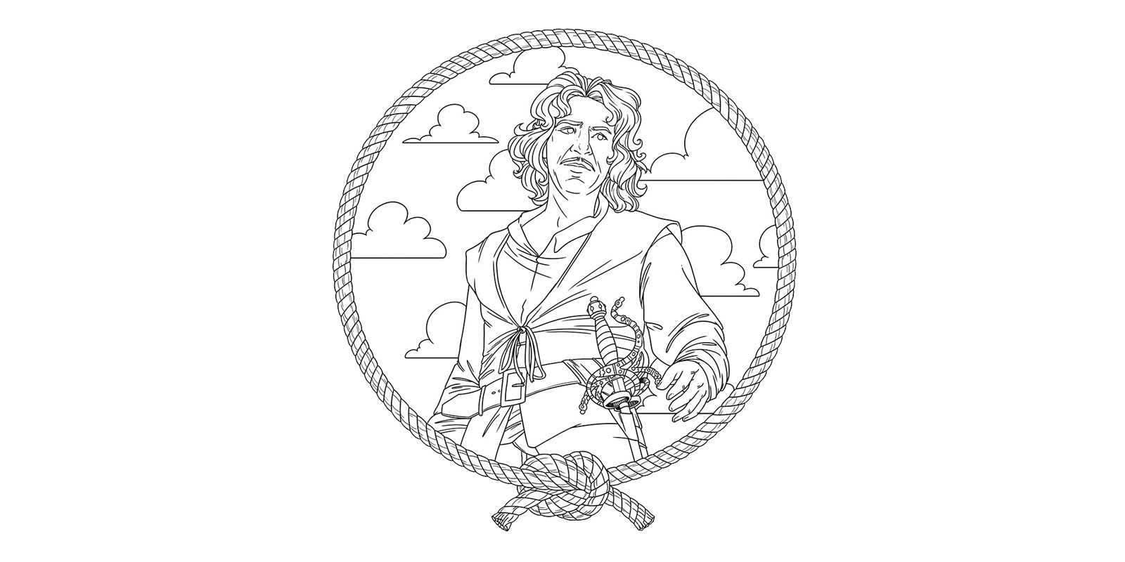 The Princess Bride's 2nd Coloring Book Pages