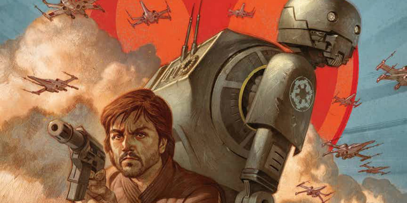 Rogue One: How Cassian Met K-2SO Prequel Comic