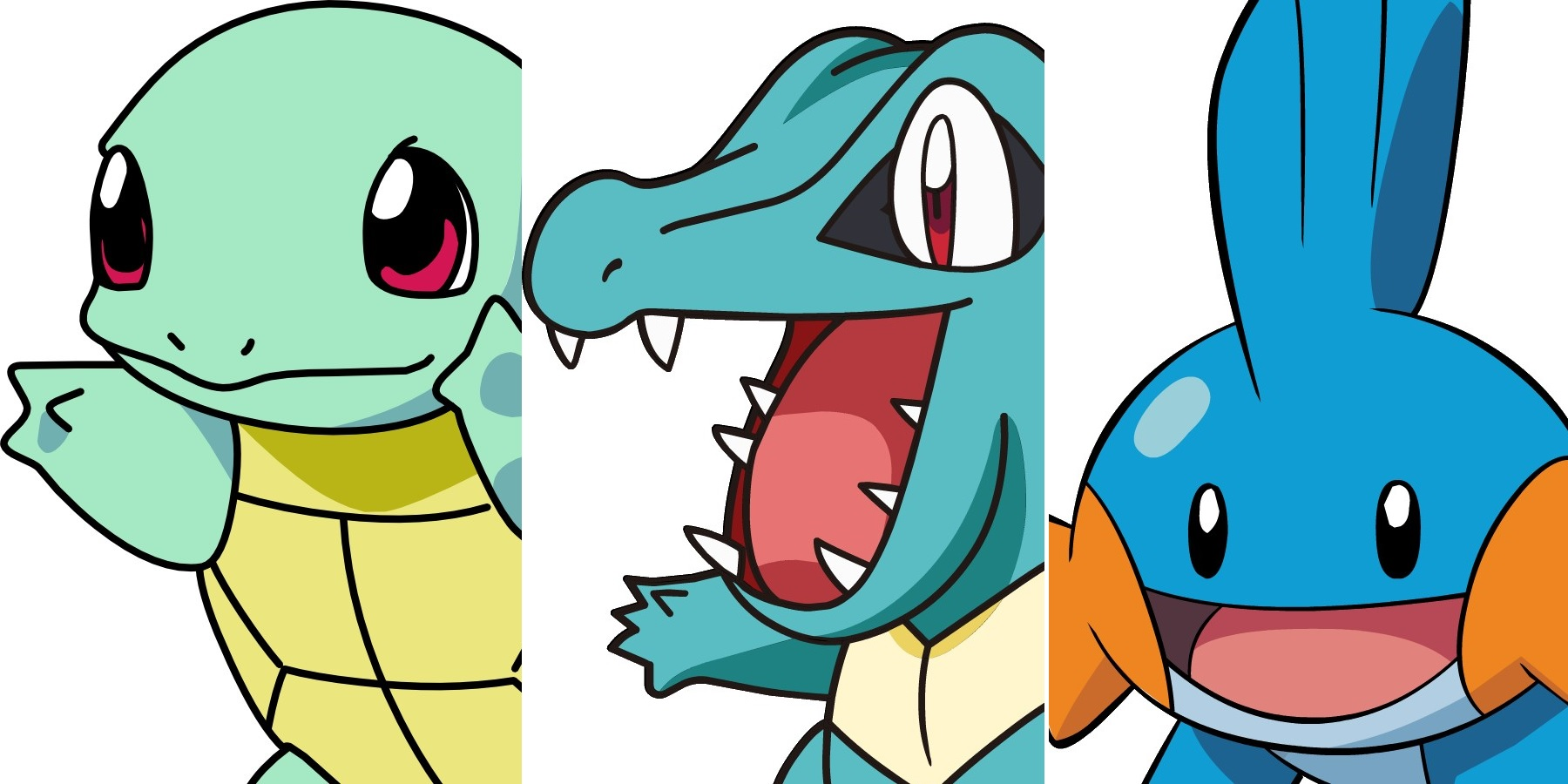 Pokemon Water Types Best Starters