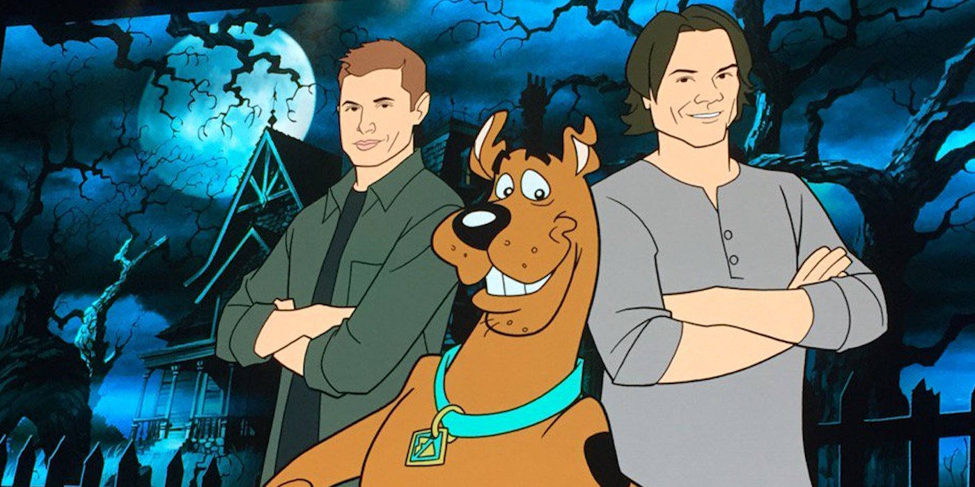 Supernatural scooby doo crossover confirmed screen rant - De scooby doo ...