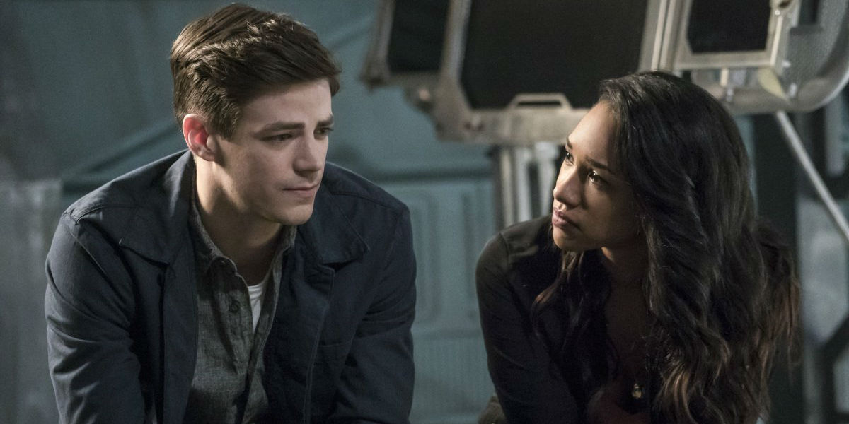 The Flash Season 3 Cause And Effect Barry Allen iris West