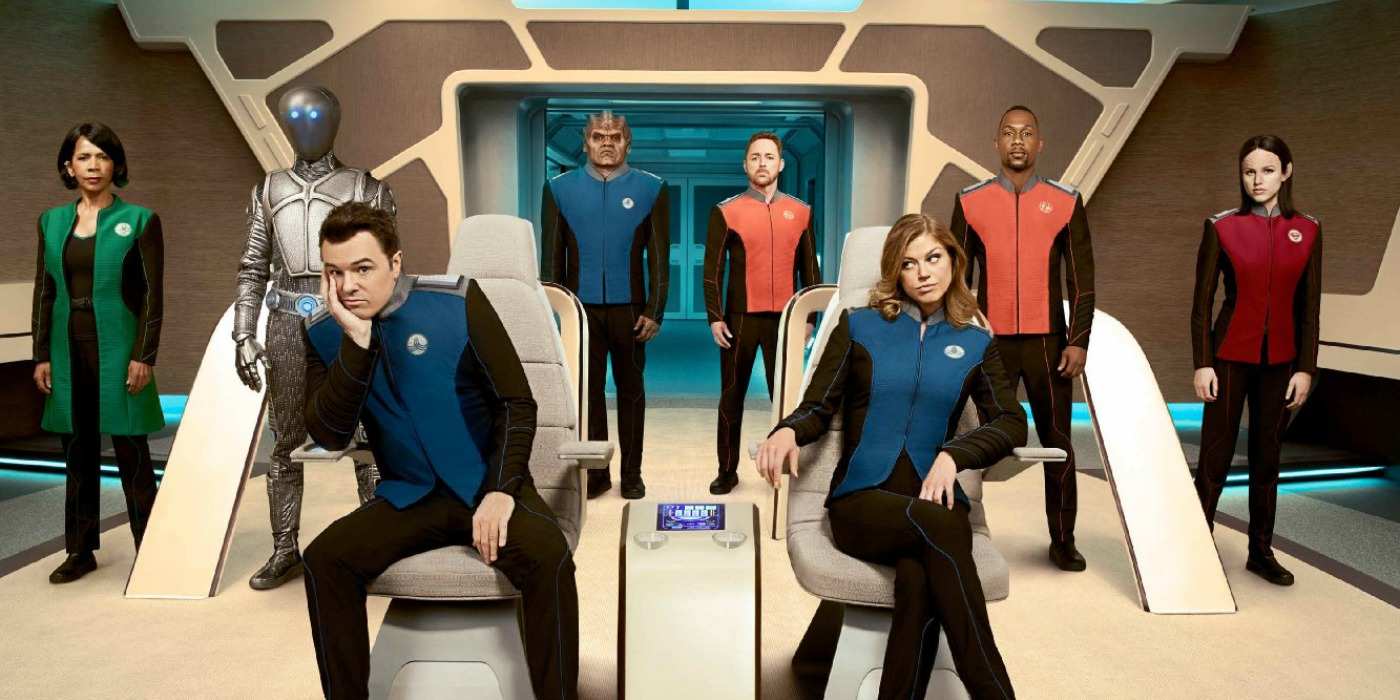The Orville Fox New Sci Fi Show
