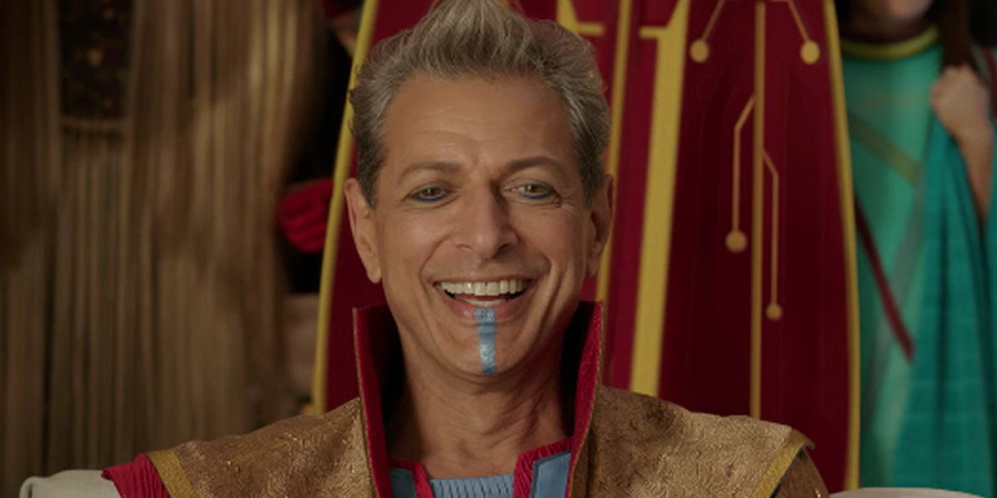 Thor Ragnarok Jeff Goldblum as Grandmaster