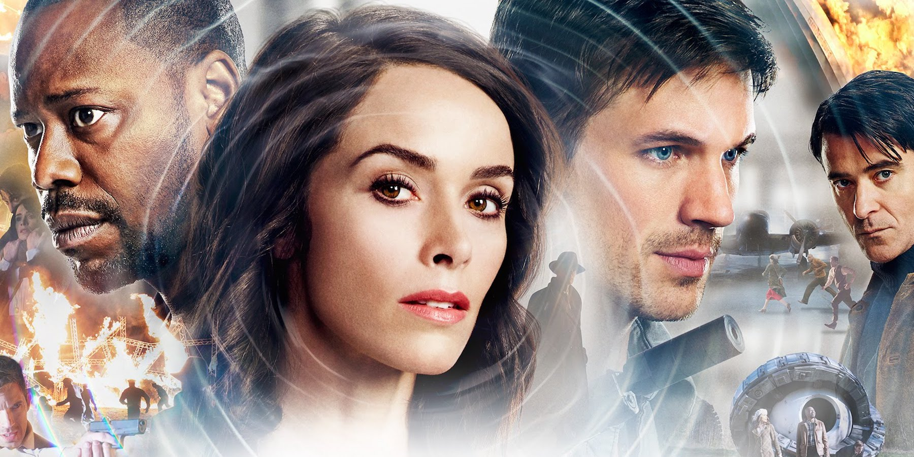 Timeless Season 1 Key Art