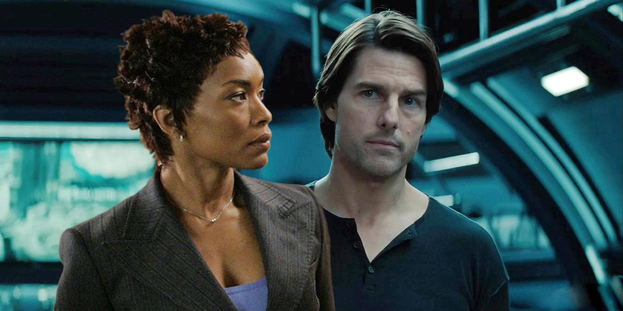 Tom Cruise in Mission: Impossible 4 and Angela Bassett