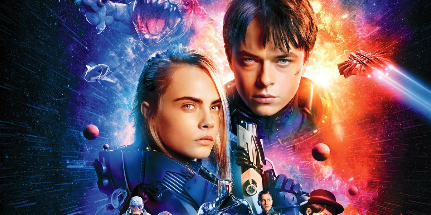 "Résultat de recherche d'images pour ""valerian and the city of a thousand planets poster"""