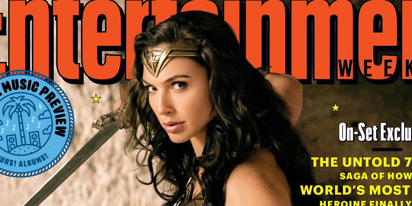 Wonder Woman Graces Entertainment Weekly Cover