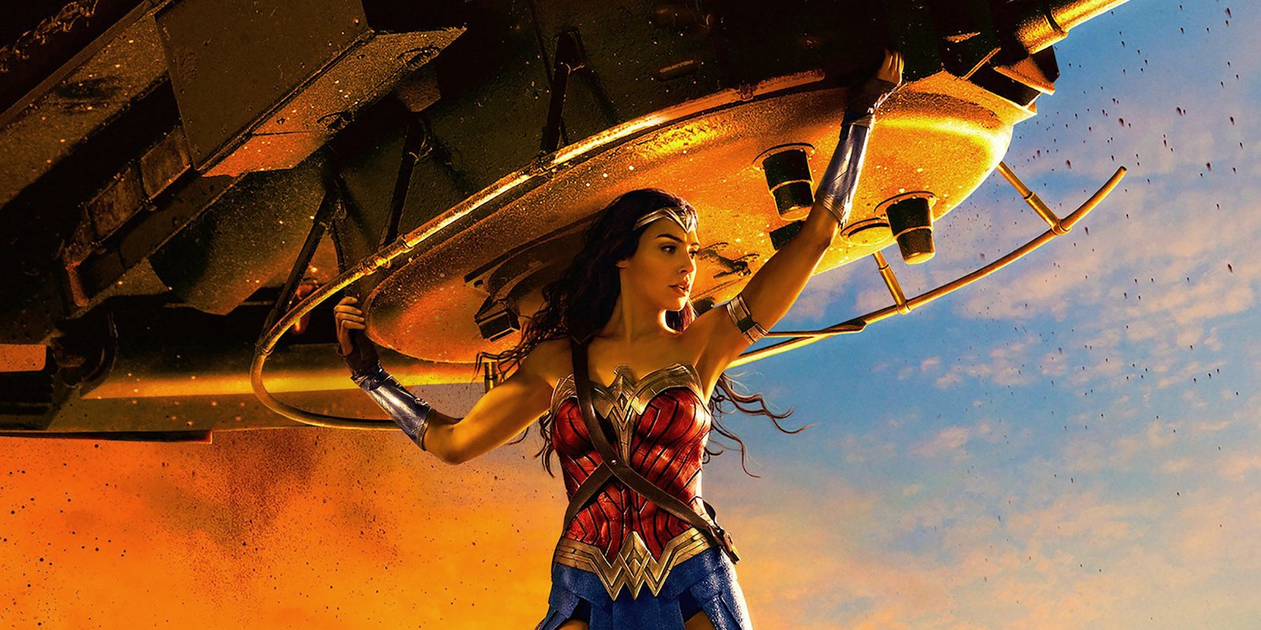 Wonder Woman Tank Poster Cropped