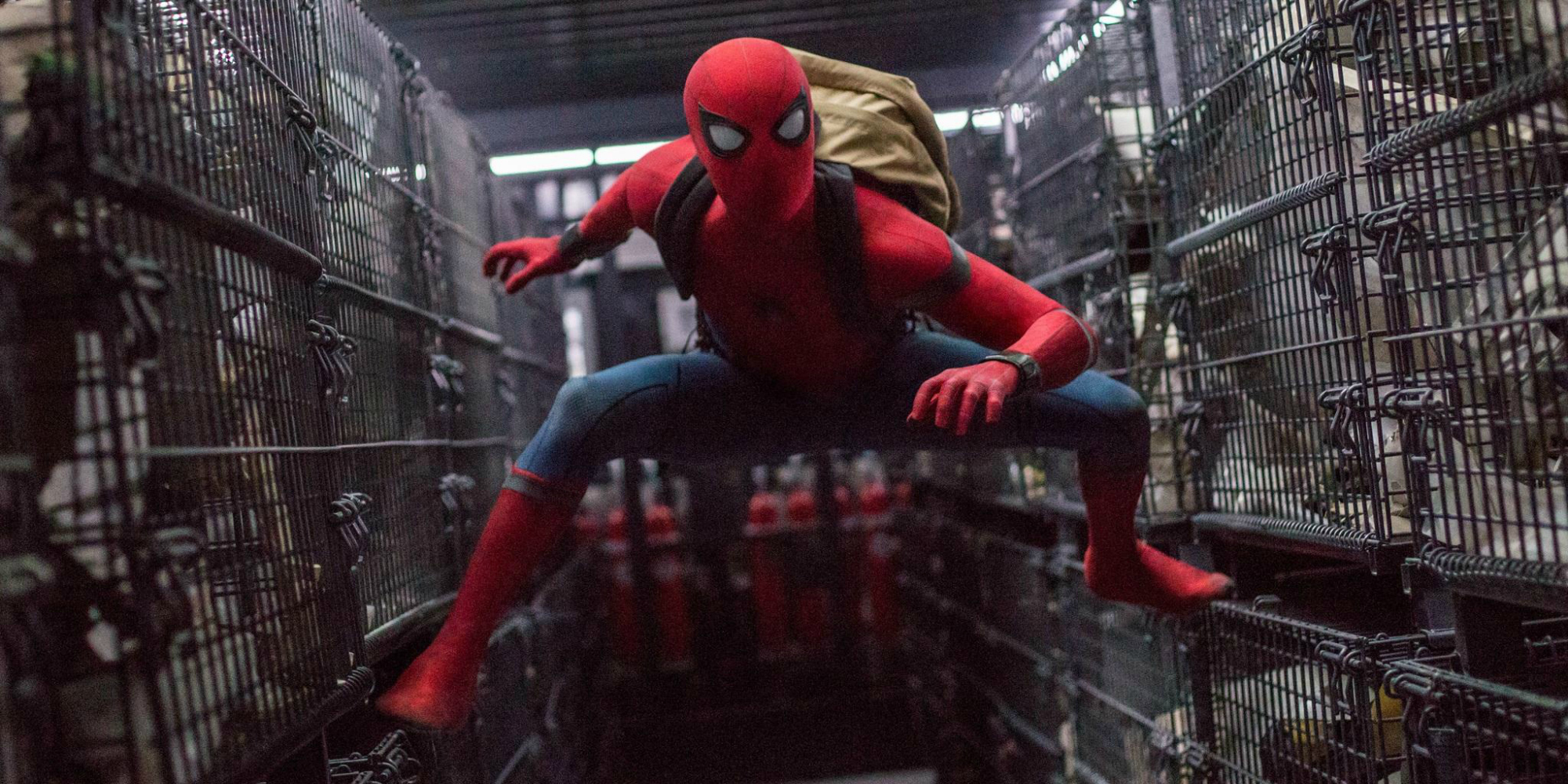 New Spider-Man: Homecoming Trailer Gifs