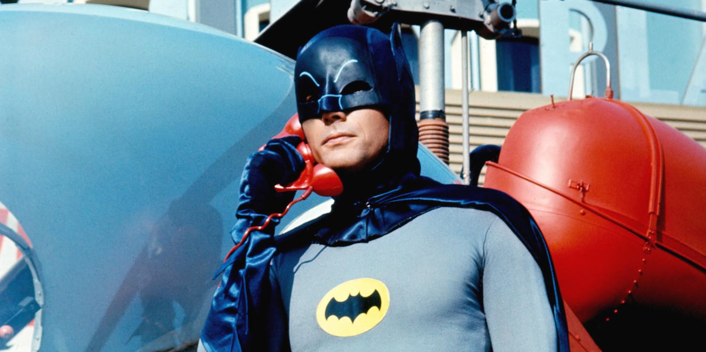 Adam West Batman Bat Phone