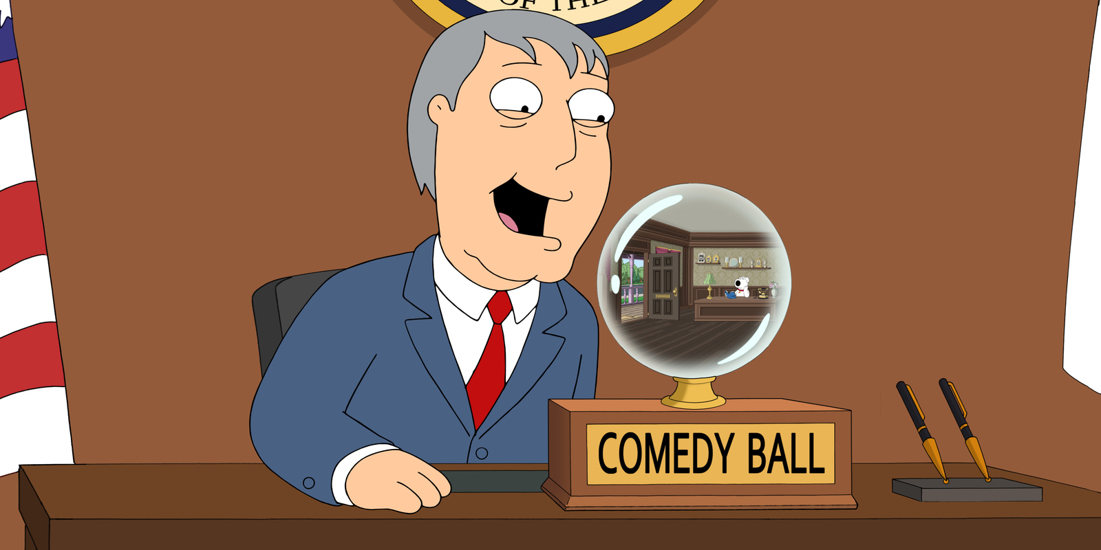 Adam West in Family Guy