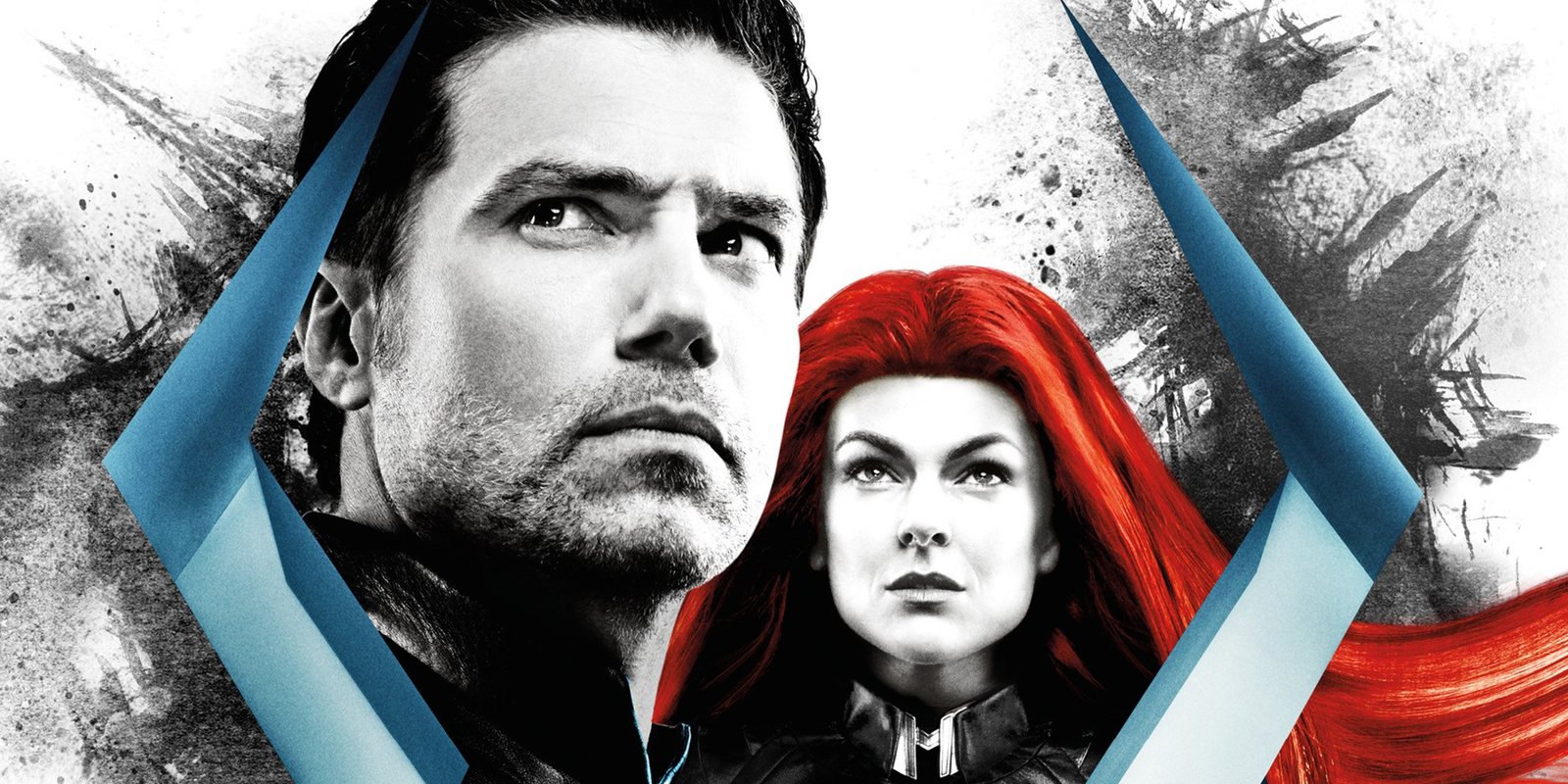 Anson Mount and Serinda Swan Marvel's Inhumans