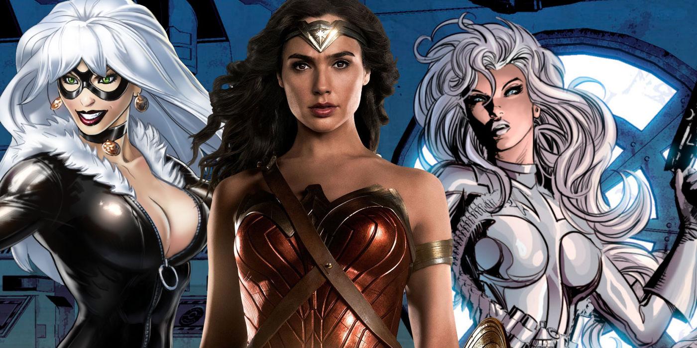 Black Cat Silver Sable Wonder Woman