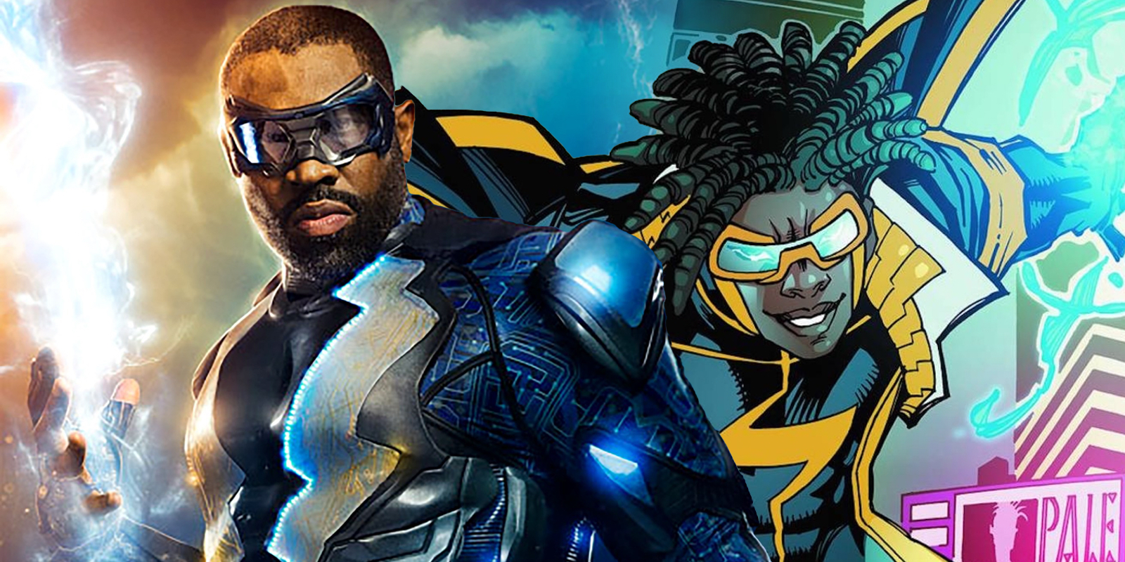 Black Lightning Static Shock