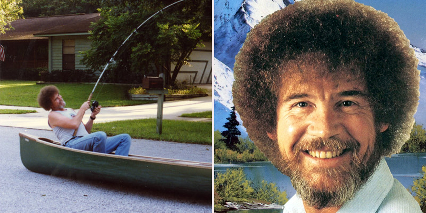 Things you never knew about bob ross screen rant voltagebd Gallery