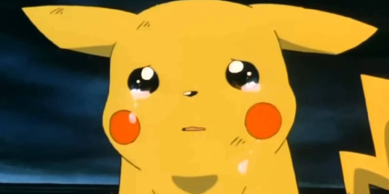 Crying Pikachu Pokemon