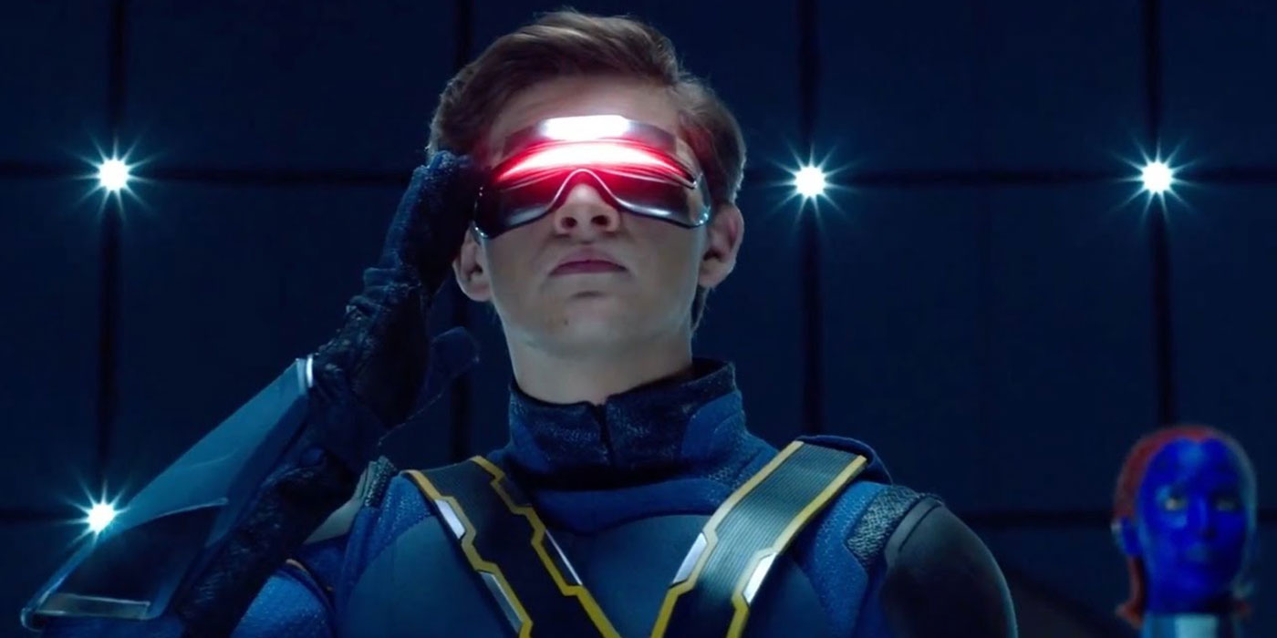 Tye Sheridan as Cyclops in X-Men: Apocalypse