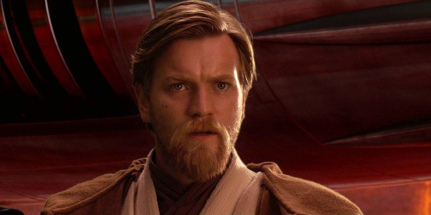 Ewan McGregor as Obi-Wan Kenobi in Star Wars Revenge of the Sith