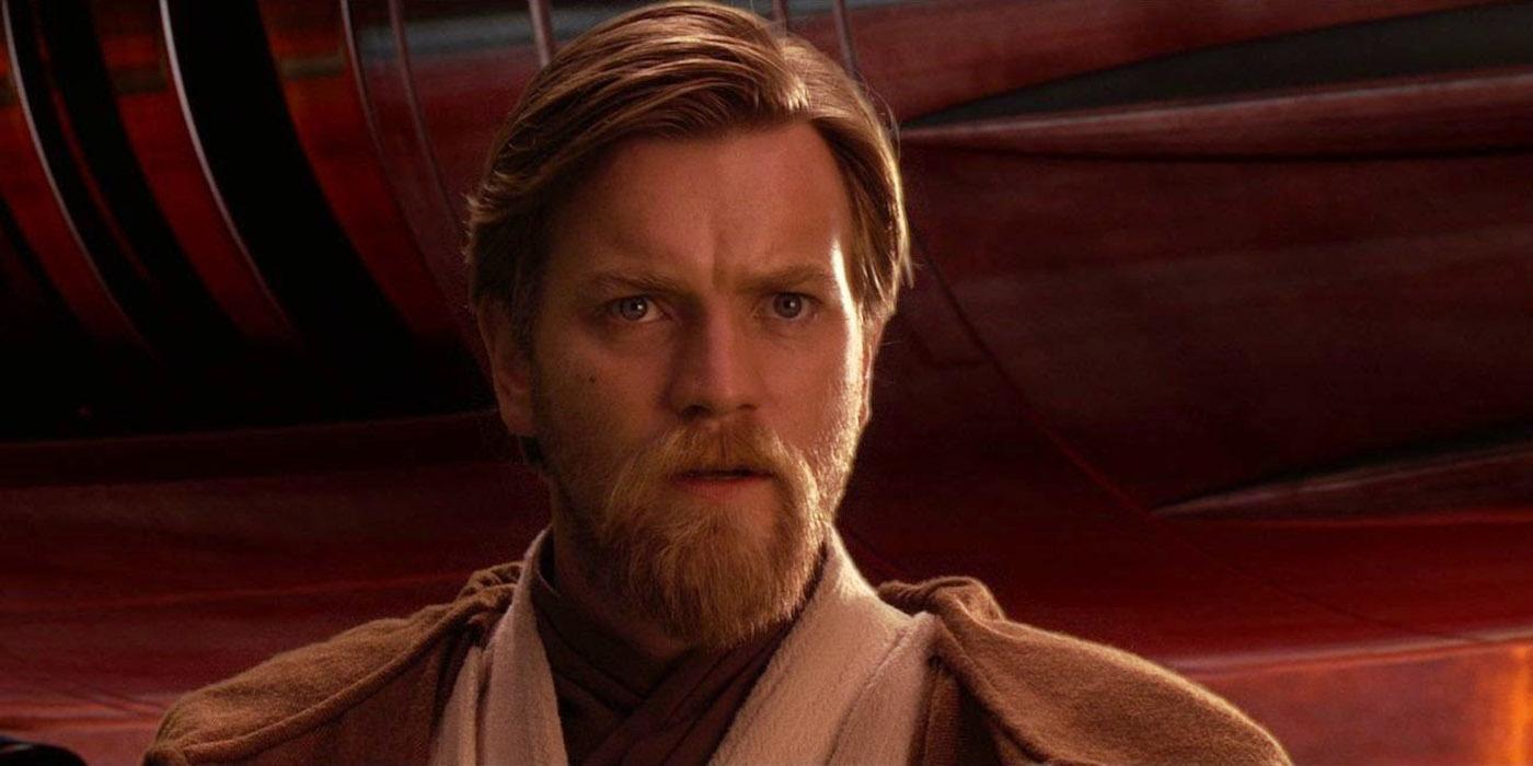 Ewan McGregor as Obi-Wan Kenobi in Star Wars Revenge of the Sith