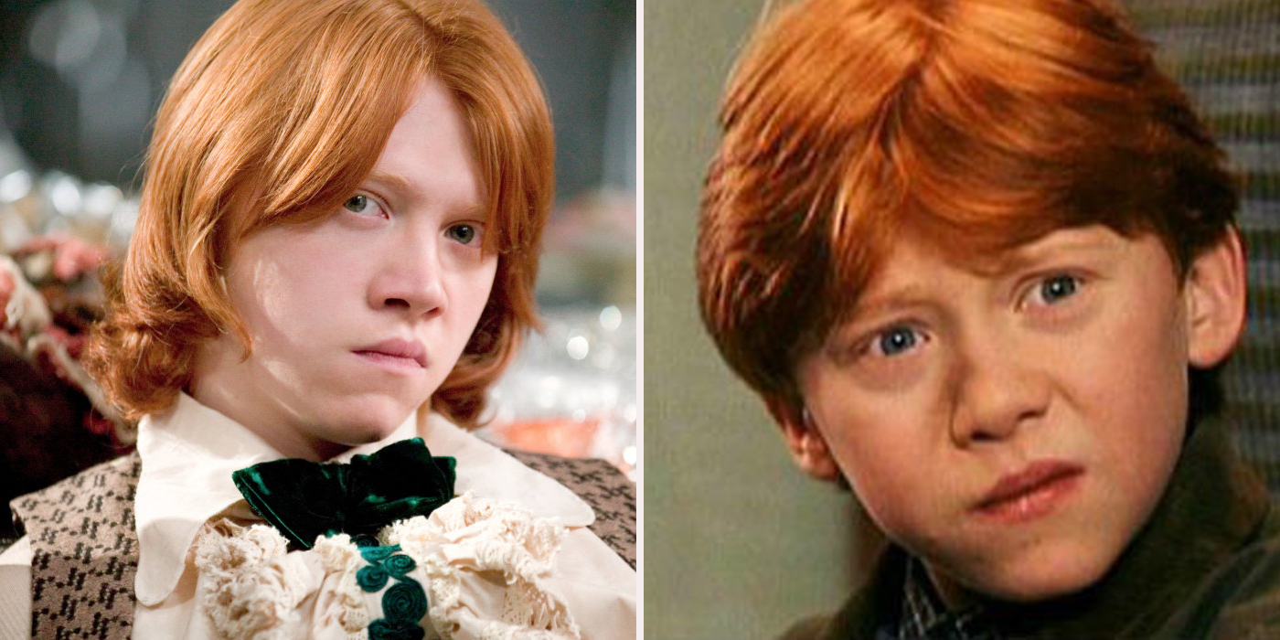 Times ron weasley was the worst and best screen rant - Rone harry potter ...