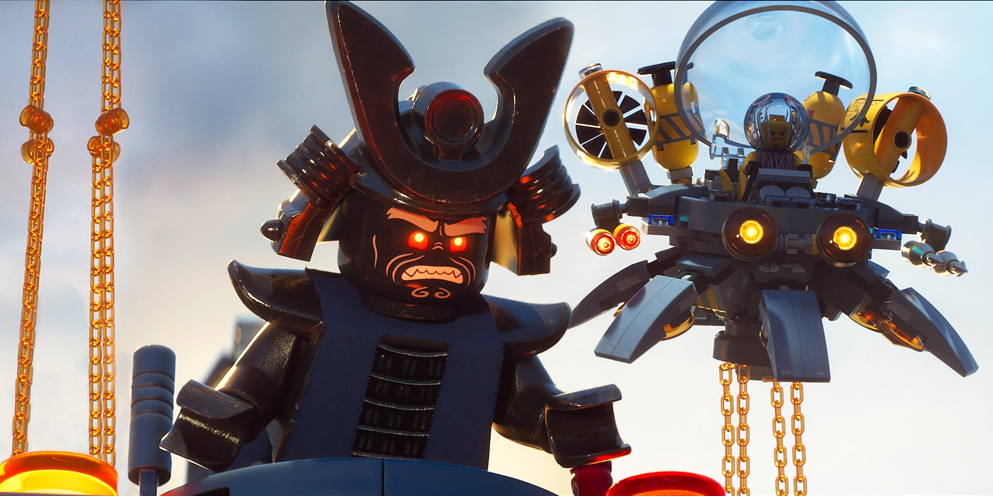 LEGO Ninjago Movie Toy Sets Revealed