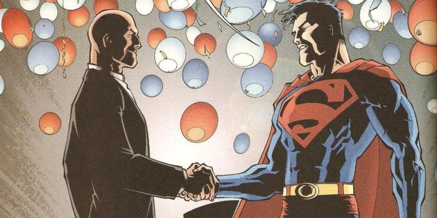 15 Times Superman And Lex Luthor Teamed Up
