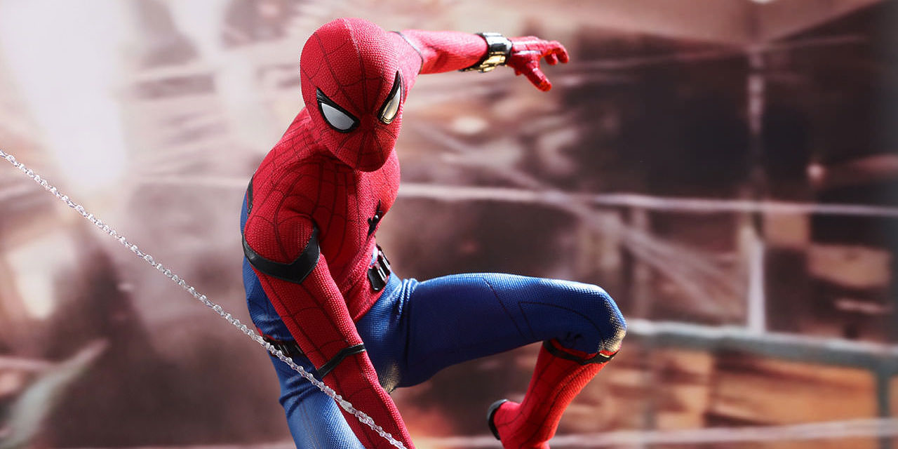 Marvel Spider-Man Homecoming Sideshow Hot Toys Figure