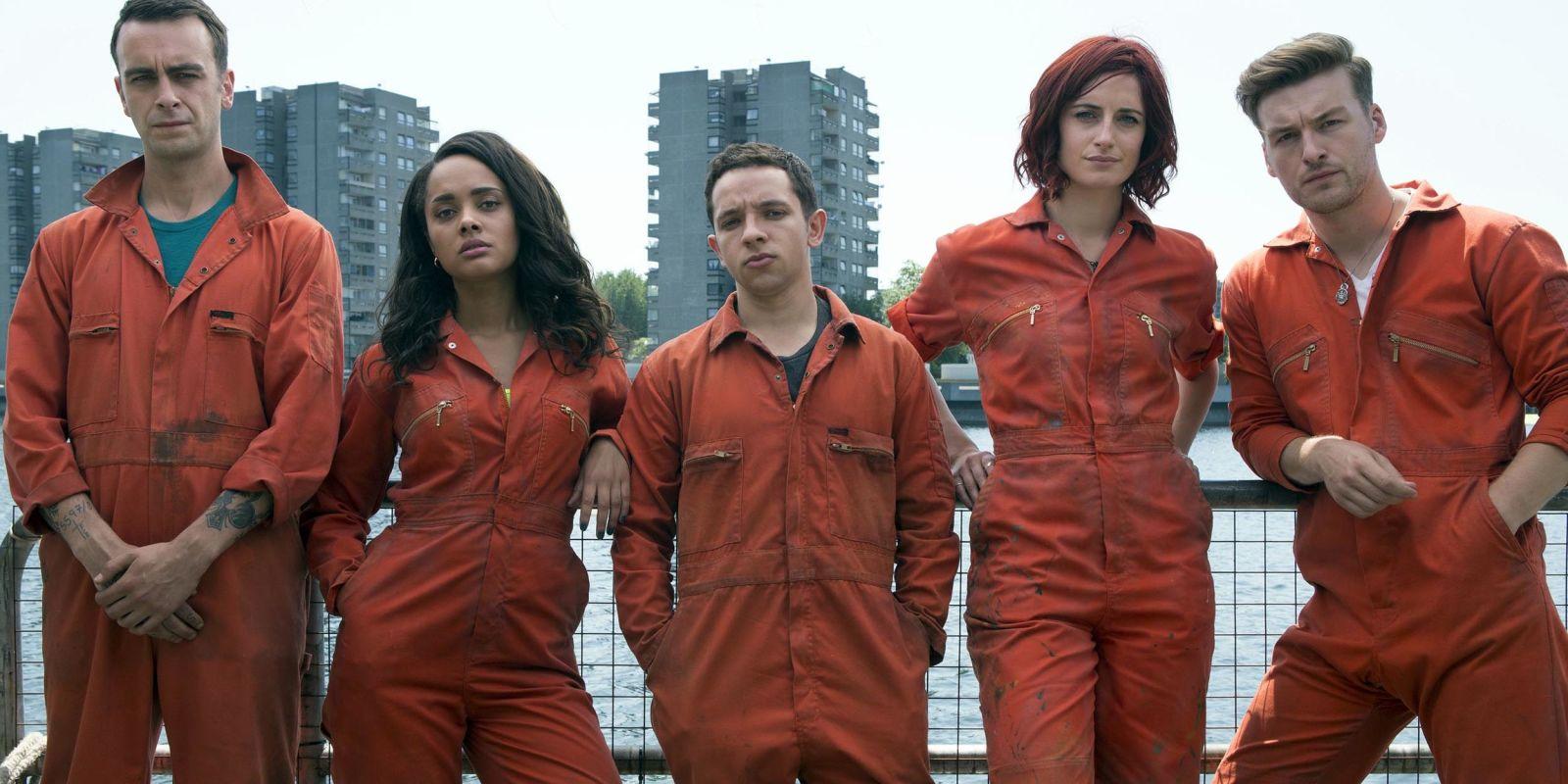 Misfits BBC Cast