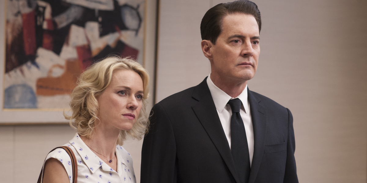 Naomi Watts and Kyle MacLachlan in Twin Peaks Episode 7