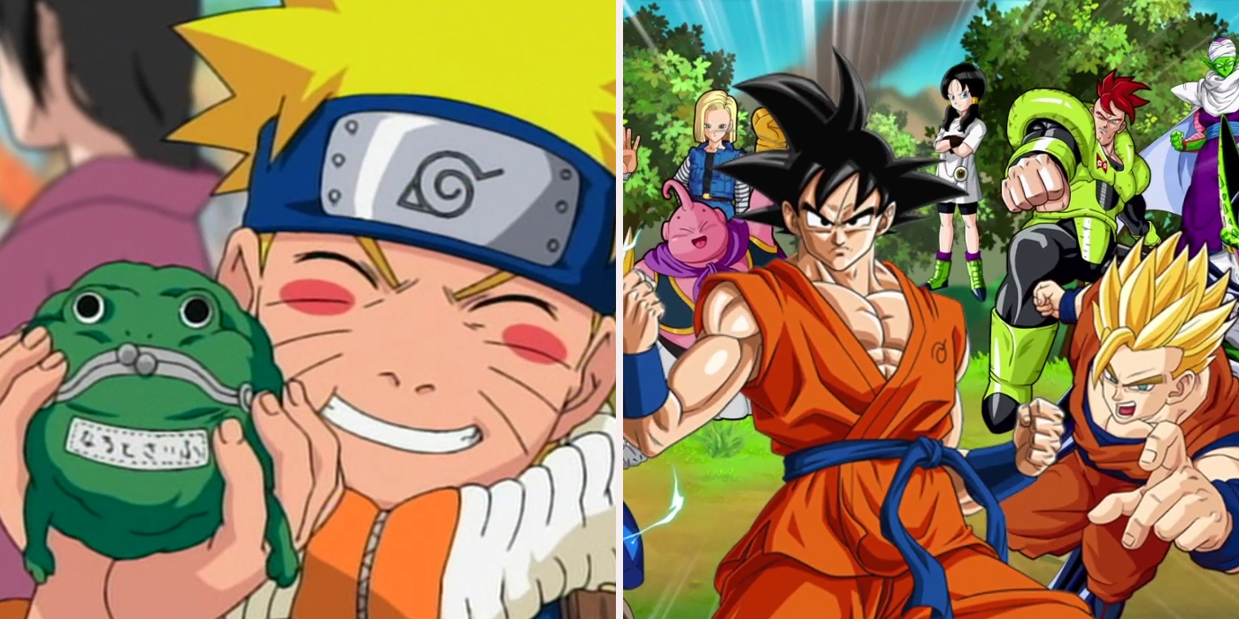 Ways naruto is better than dragon ball z screen rant - Naruto and dragonball z ...