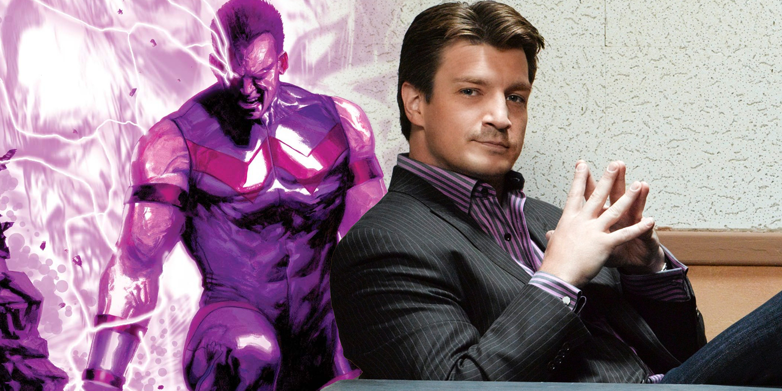 Nathan Fillion Wonder Man