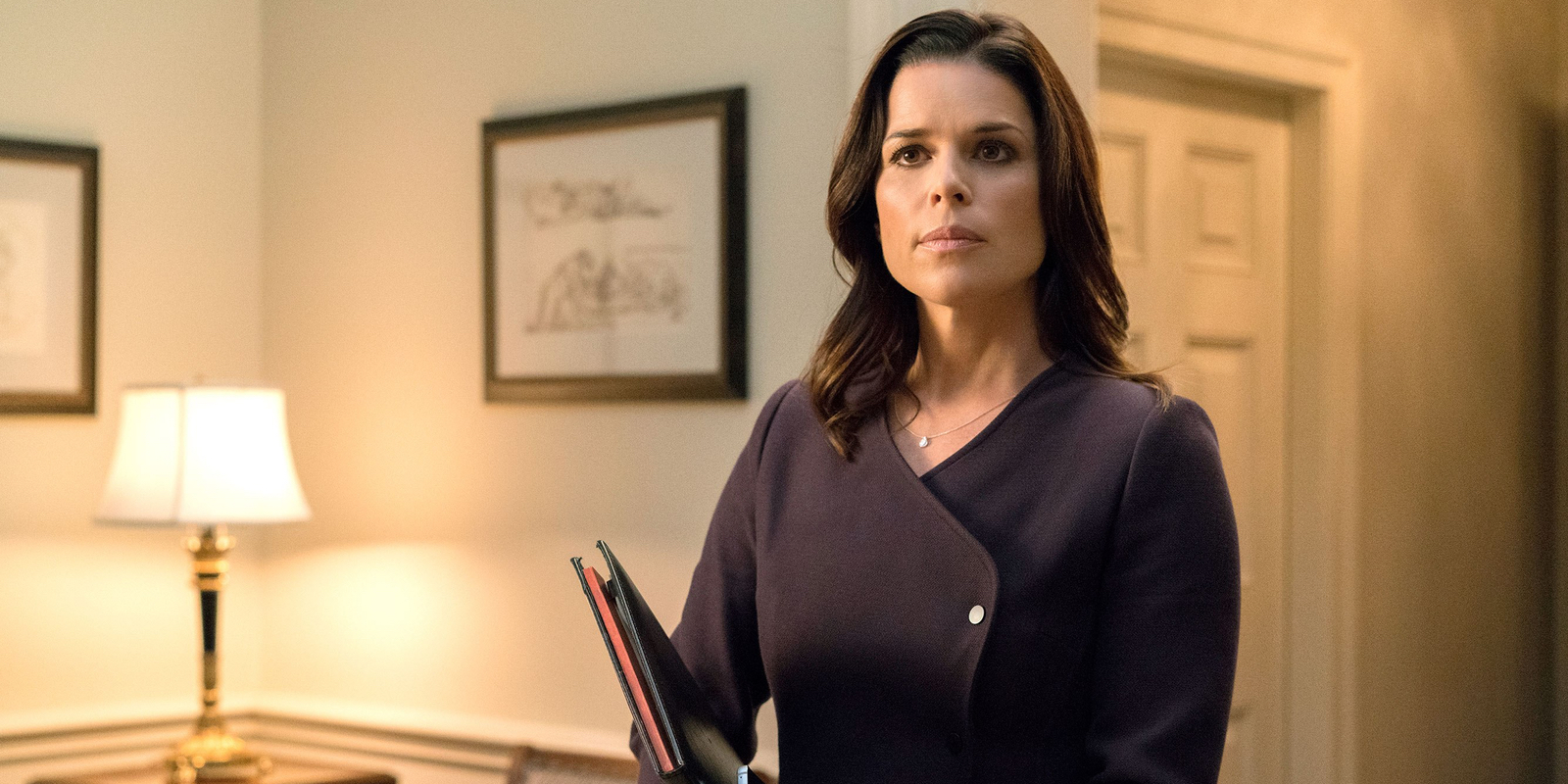 Neve Campbell Joins Skyscraper Movie