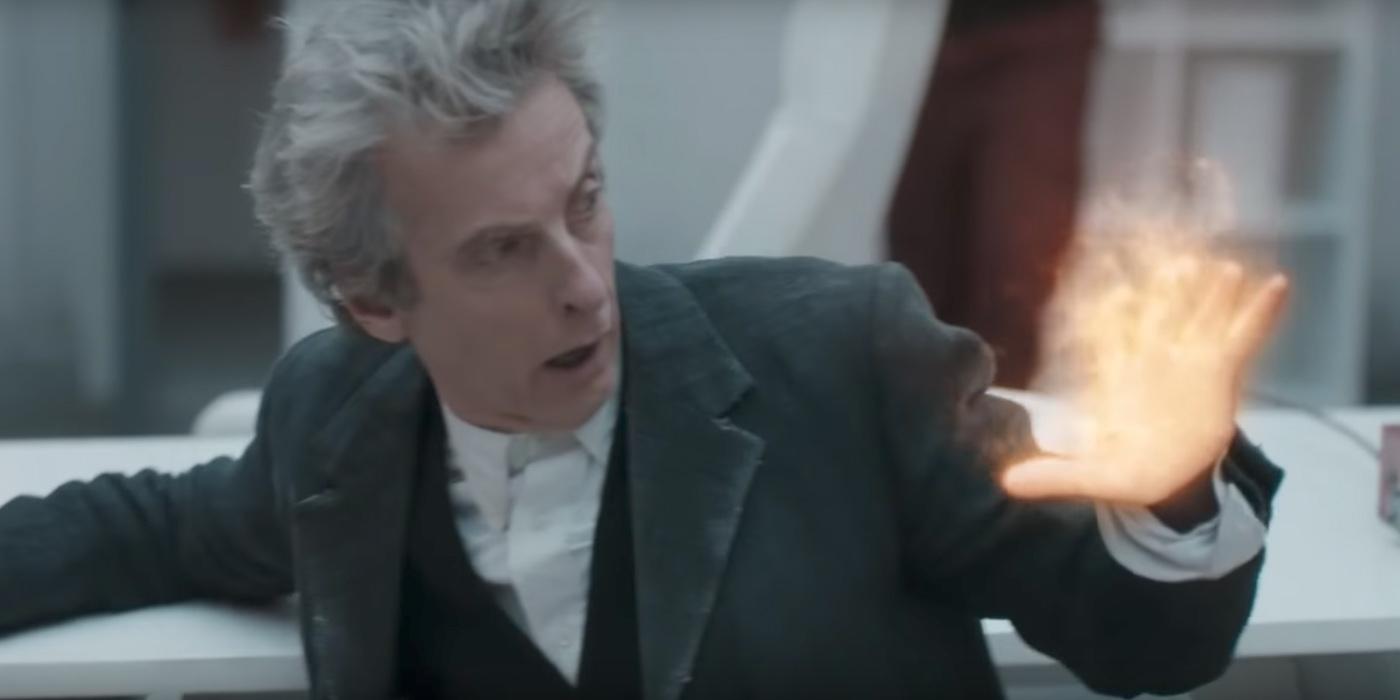 Peter Capaldi Doctor Who Regeneration