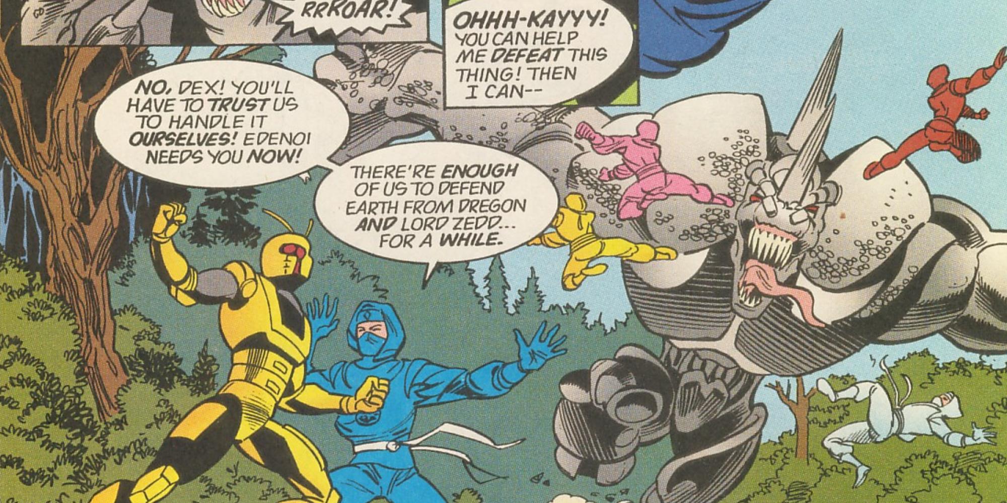 20 Craziest Power Rangers Crossovers Ever | ScreenRant