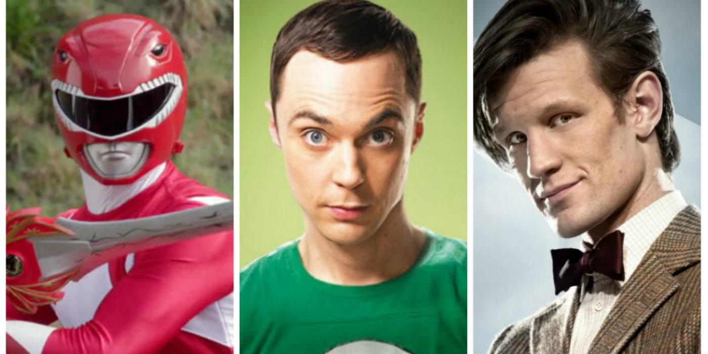 Red Ranger Sheldon Doctor Who