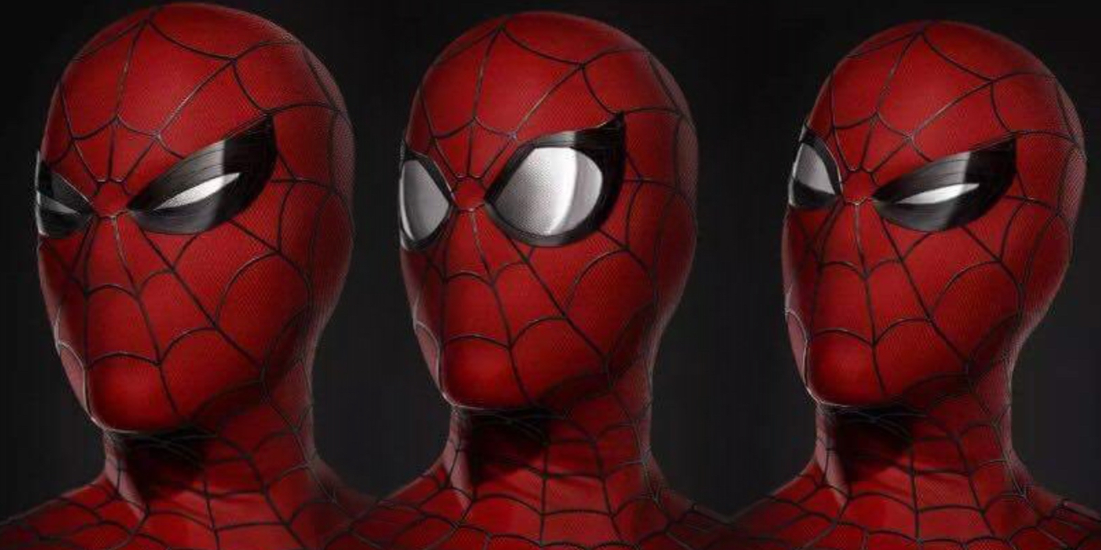 Spider-Man Homecoming Suit Expressions