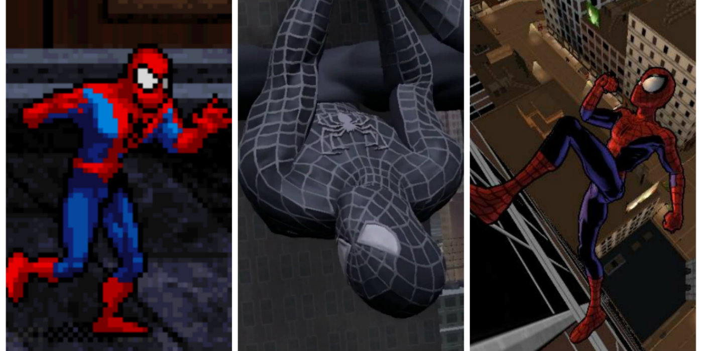 every spider man video game ranked screen rant