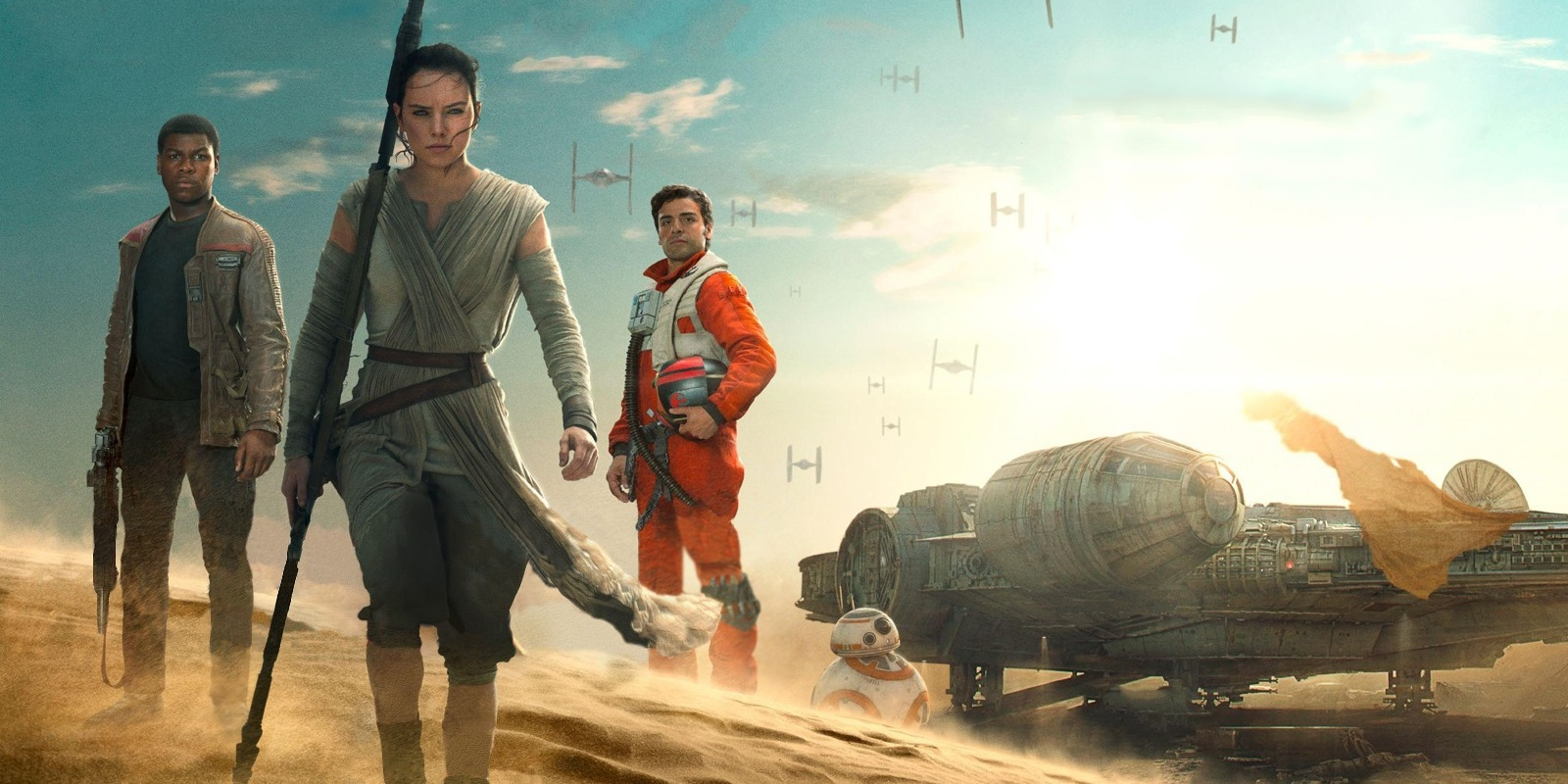 Star Wars Force Awakens Rey Finn Poe wallpaper Star Wars 9: Everything You Need To Know