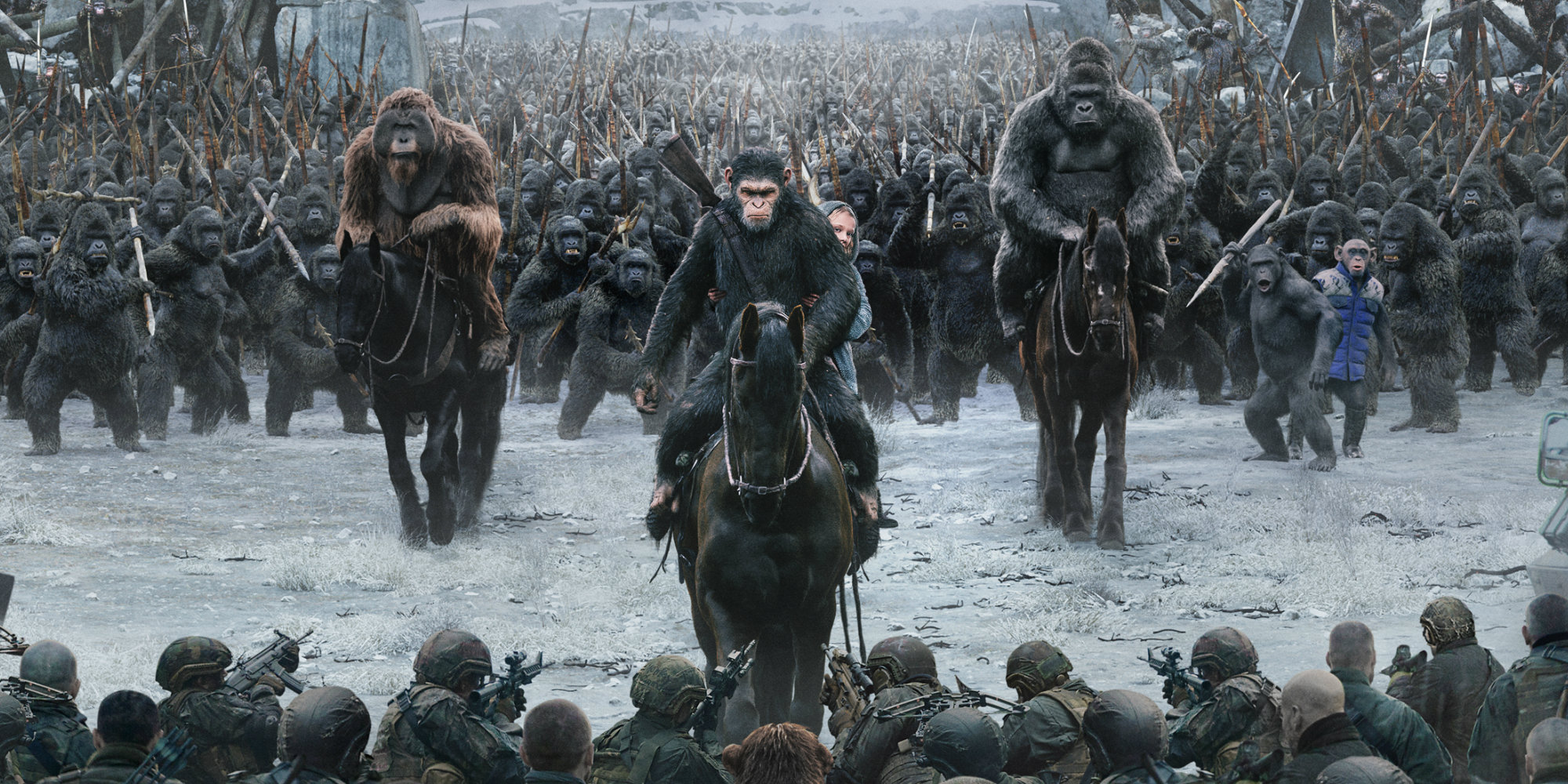 War for the planet of the apes review tv spots screen rant for Plante 94 pourcent