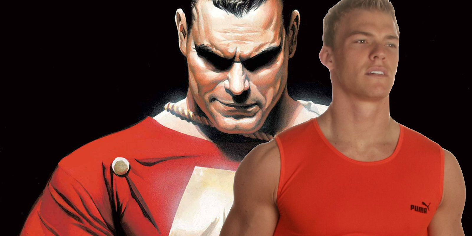 Alan Ritchson Wants to Play Shazam | Screen Rant