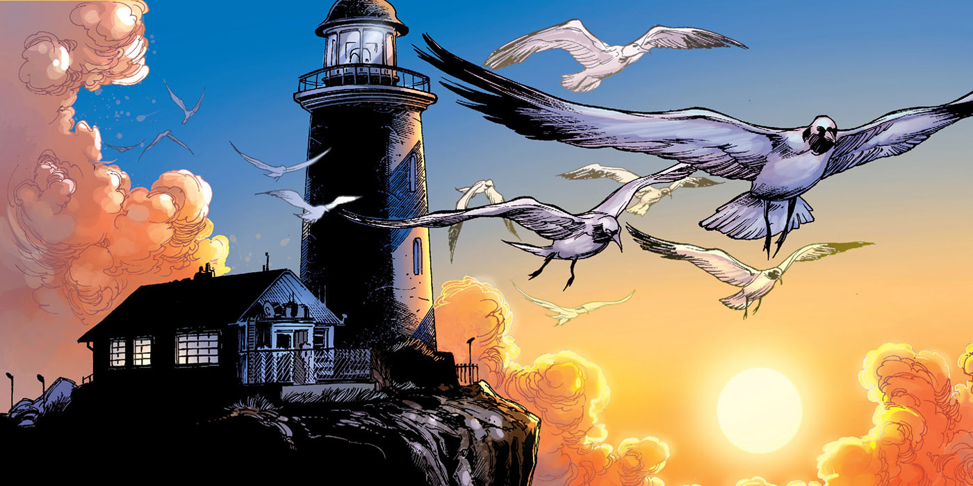 Amnesty Bay Lighthouse from DC Comics' Aquaman