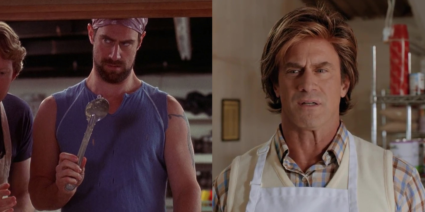 Chris Meloni Brian Bloom Ele then and now: wet hot american summer cast | screen rant