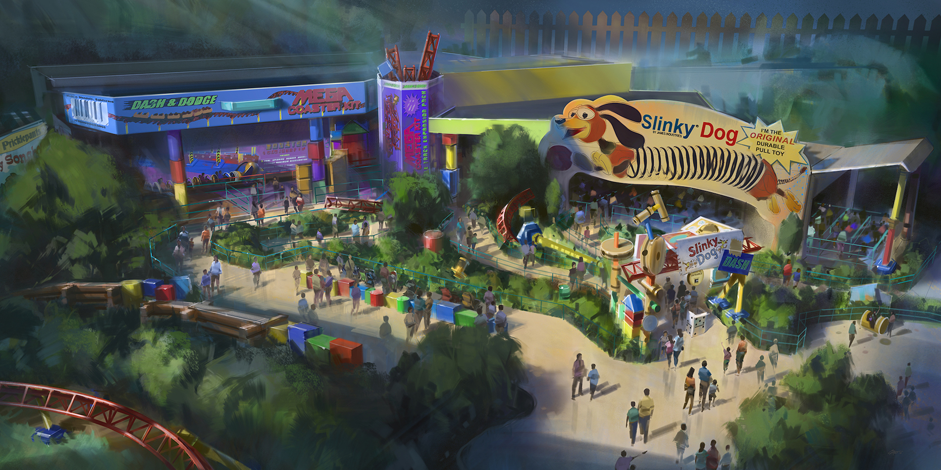 Disney Parks Toy Story Land Concept Art Cropped