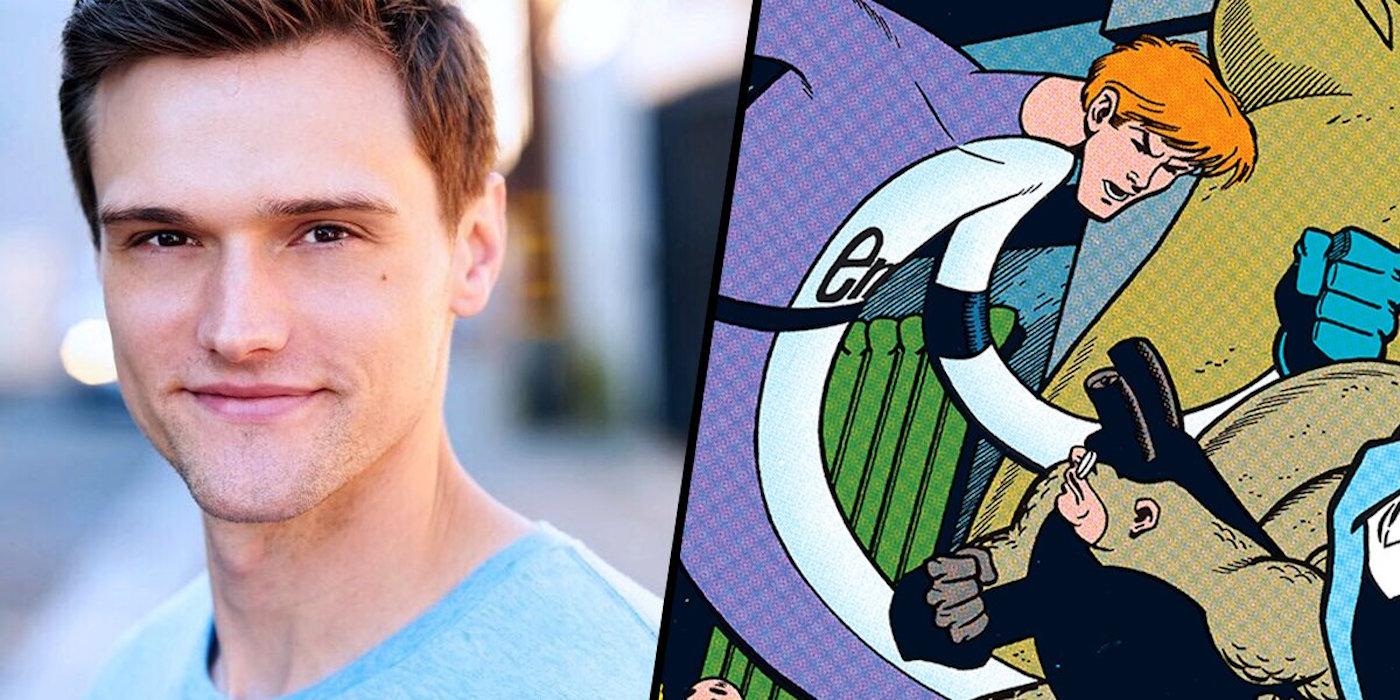 Hartley Sawyer as Elongated Man on the Flash