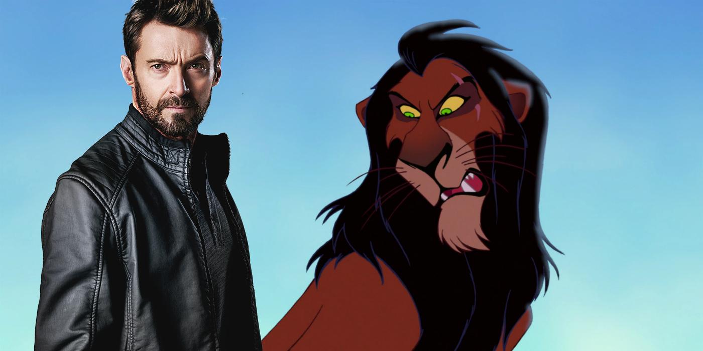 hugh jackman not cast as scar in lion king