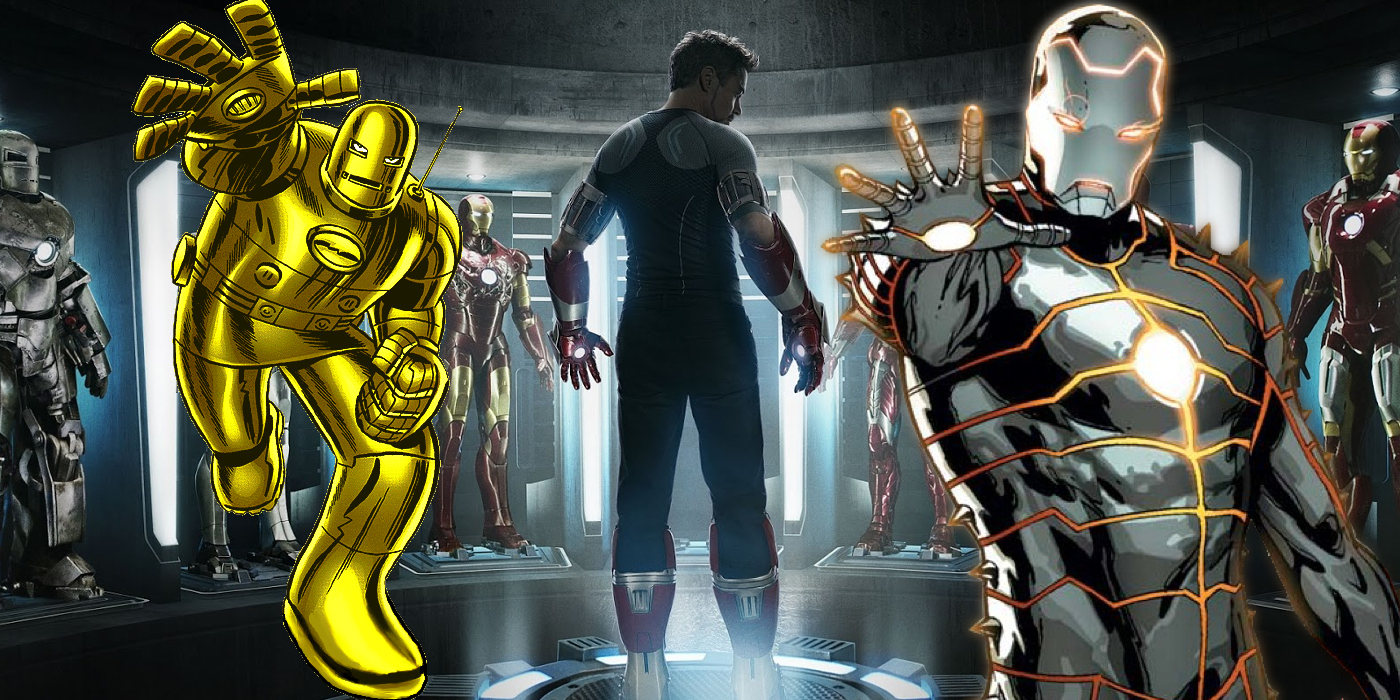 The Secret History Of The Iron Man Suit  Screen Rant